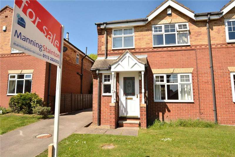 3 Bedrooms Semi Detached House for sale in Fairfield Close, Rothwell, Leeds, West Yorkshire