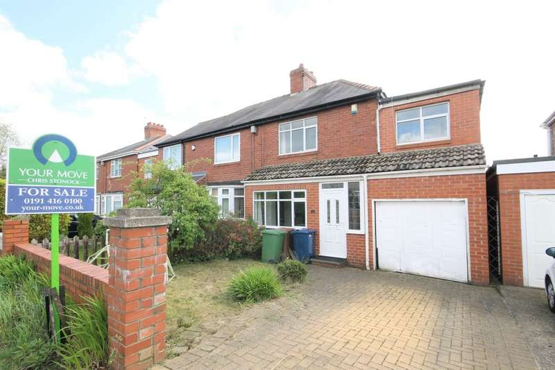 4 Bedrooms Semi Detached House for sale in New Road, Washington, NE38
