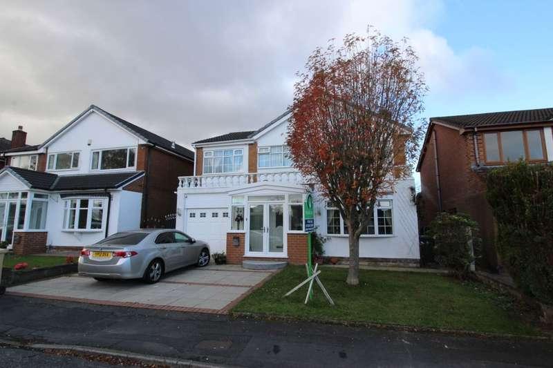 5 Bedrooms Detached House for sale in Glendale Drive, Ladybridge, Bolton, BL3
