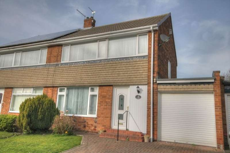 3 Bedrooms Semi Detached House for sale in Ashdale Crescent, Chapel House, Newcastle Upon Tyne, NE5