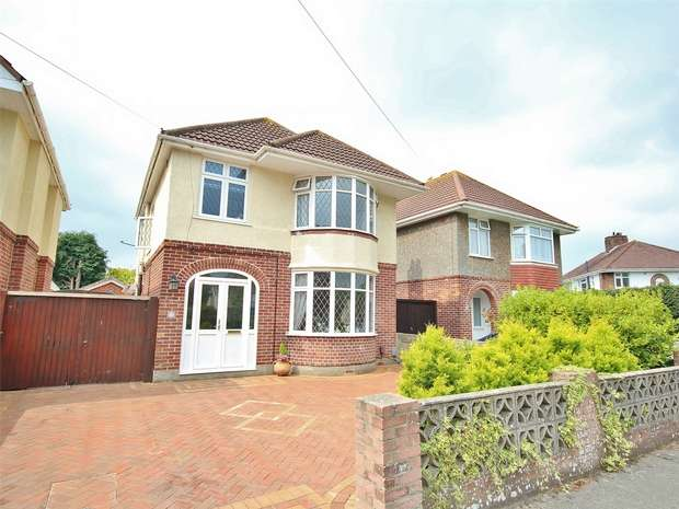 4 Bedrooms Detached House for sale in Broughton Avenue, Broughton Avenue, BOURNEMOUTH, Dorset