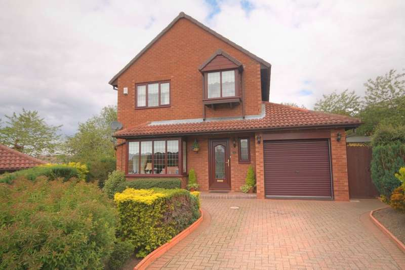 4 Bedrooms Detached House for sale in Lynton Court, Houghton Le Spring, DH4