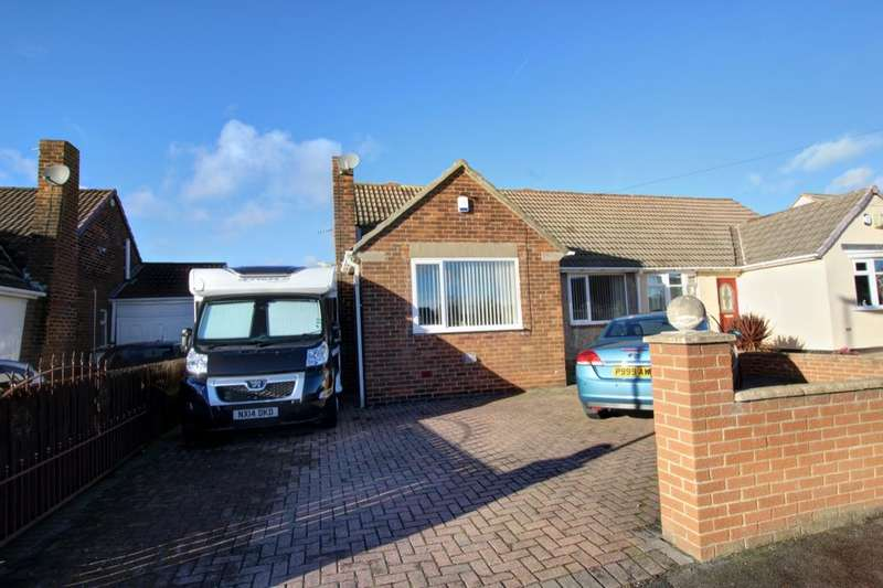 2 Bedrooms Semi Detached Bungalow for sale in Ross Lea, Houghton Le Spring, DH4