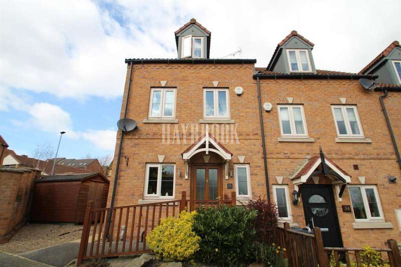 3 Bedrooms End Of Terrace House for sale in Belle Green Lane, Cudworth