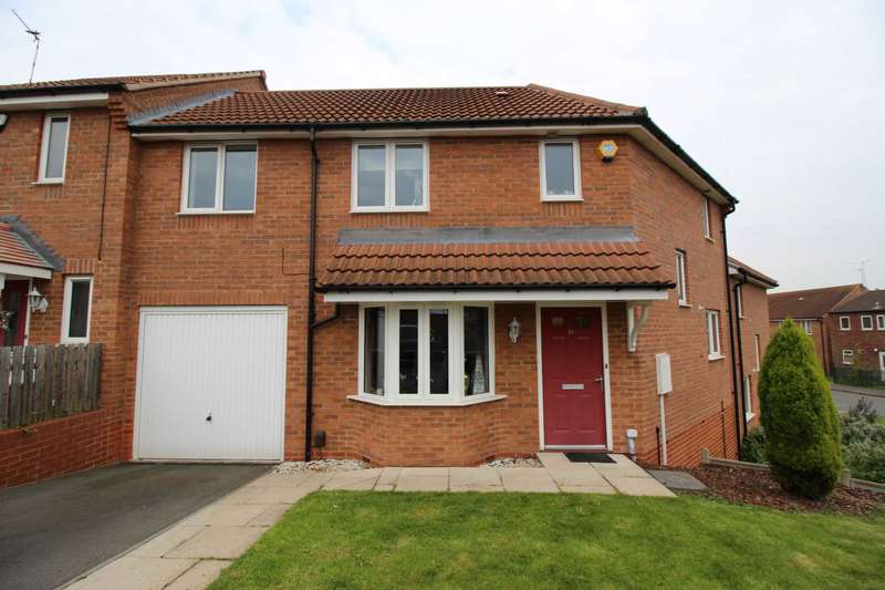 3 Bedrooms Semi Detached House for sale in Aysgarth Road, Beaumont Leys