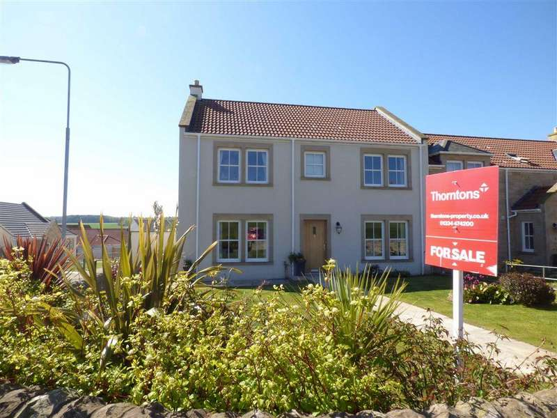 4 Bedrooms Semi Detached House for sale in The Glebe, Strathkinness, Fife
