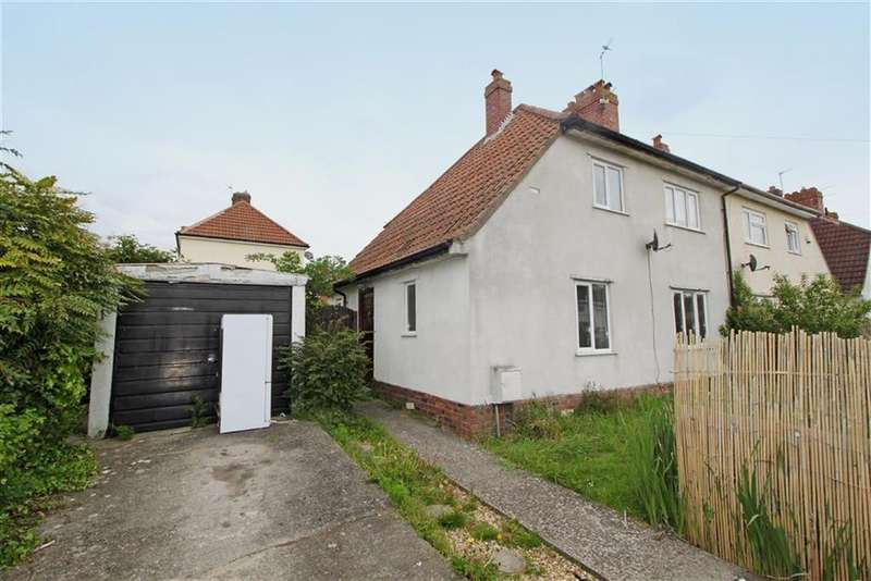 3 Bedrooms Semi Detached House for sale in Crossways Road, Knowle, Bristol