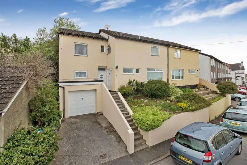 4 Bedrooms Semi Detached House for sale in Crossley Moor Road, Kingsteignton, TQ12 3LE