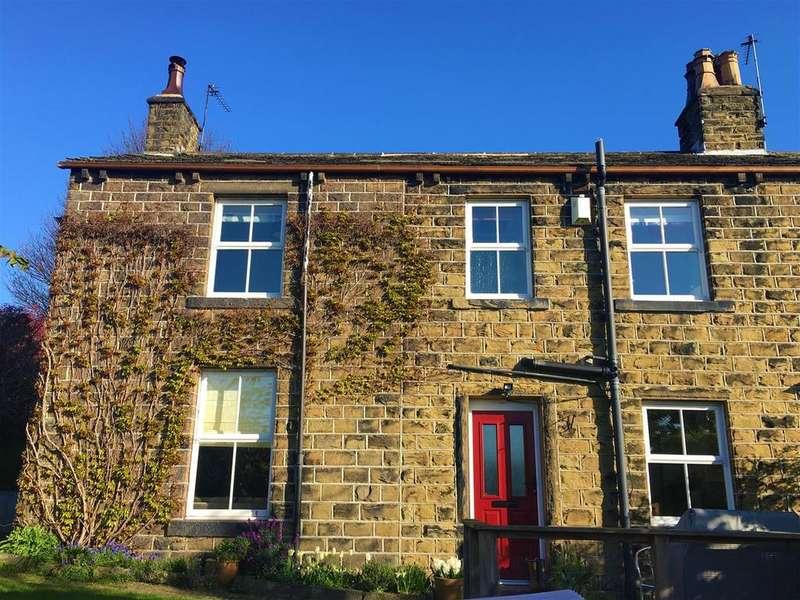 3 Bedrooms Semi Detached House for sale in Wakefield Road, Denby Dale, Huddersfield, HD8 8RT