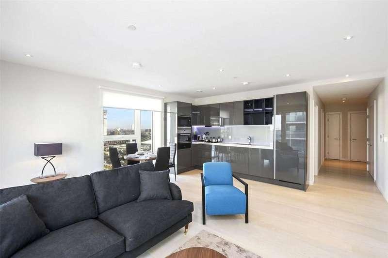 2 Bedrooms Flat for sale in Glasshouse Gardens, Montfichet Road, London, E20