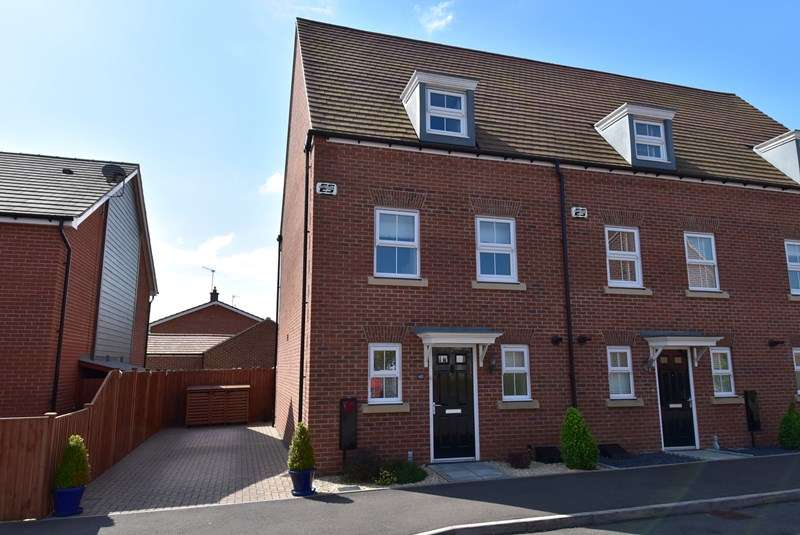 3 Bedrooms End Of Terrace House for sale in Lawley Way, Droitwich