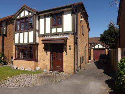 3 Bedrooms Detached House for sale in Norbreck Close, Great Sankey, Warrington, Cheshire