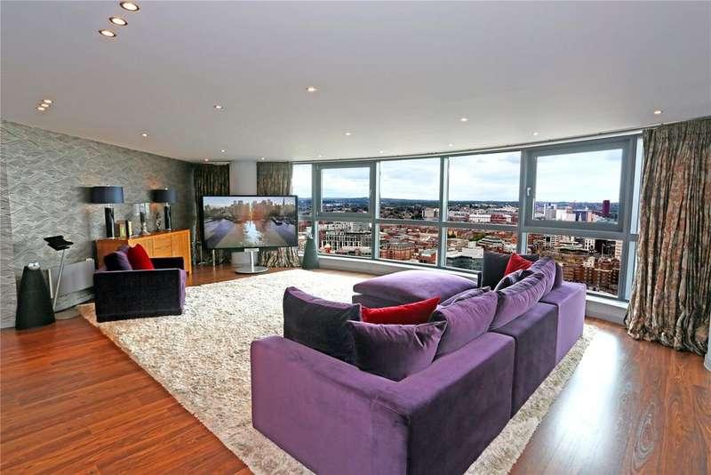 3 Bedrooms Flat for sale in Bridgewater Place, Water Lane, Leeds, West Yorkshire, LS11