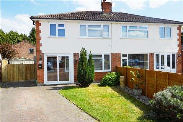 3 Bedrooms Semi Detached House for sale in Rippledale Close, CHELTENHAM, Gloucestershire, GL51 6HD