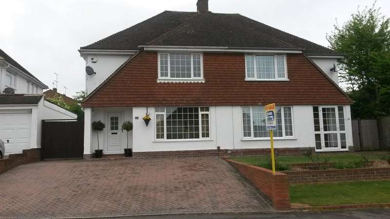 3 Bedrooms Semi Detached House for sale in Beverley Road, Barming