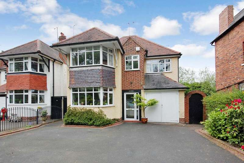 4 Bedrooms Detached House for sale in Finchfield Road, Finchfield, Wolverhampton WV3