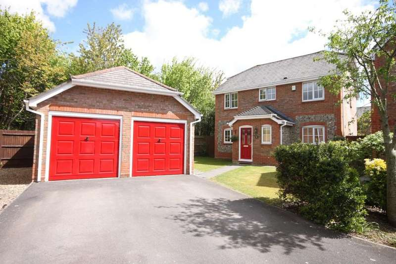 4 Bedrooms Detached House for sale in SAINTES CLOSE, BISHOPDOWN FARM, SALISBURY, WILTSHIRE SP1 3WT