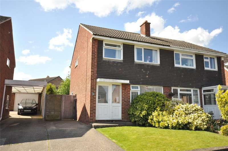 3 Bedrooms Semi Detached House for sale in Guadaloupe Avenue, Melton Mowbray, Leicestershire