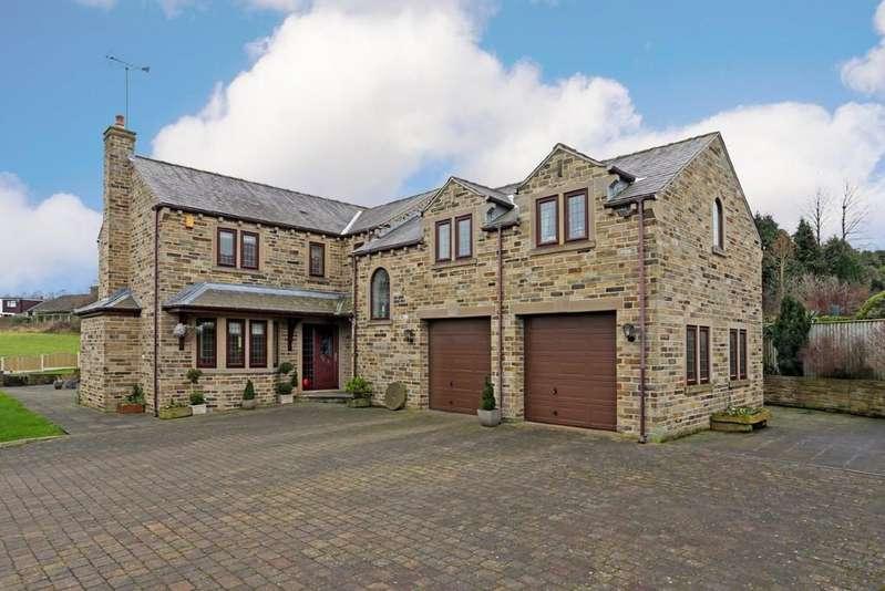 5 Bedrooms Detached House for sale in Brandy Carr Road, Kirkhamgate