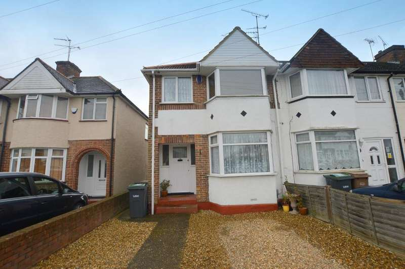 3 Bedrooms End Of Terrace House for sale in Willow Way, Luton, Bedfordshire, LU3 2SD