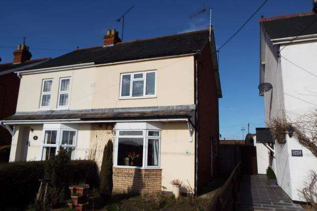 2 Bedrooms Semi Detached House for sale in Grazeley, Reading, Berkshire