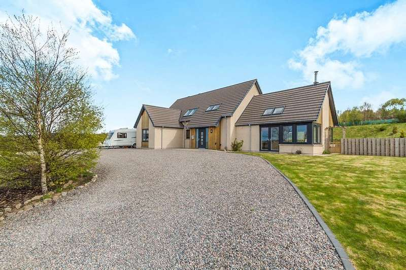 4 Bedrooms Detached House for sale in Silver Winds Spey Valley Drive, Aberlour, AB38