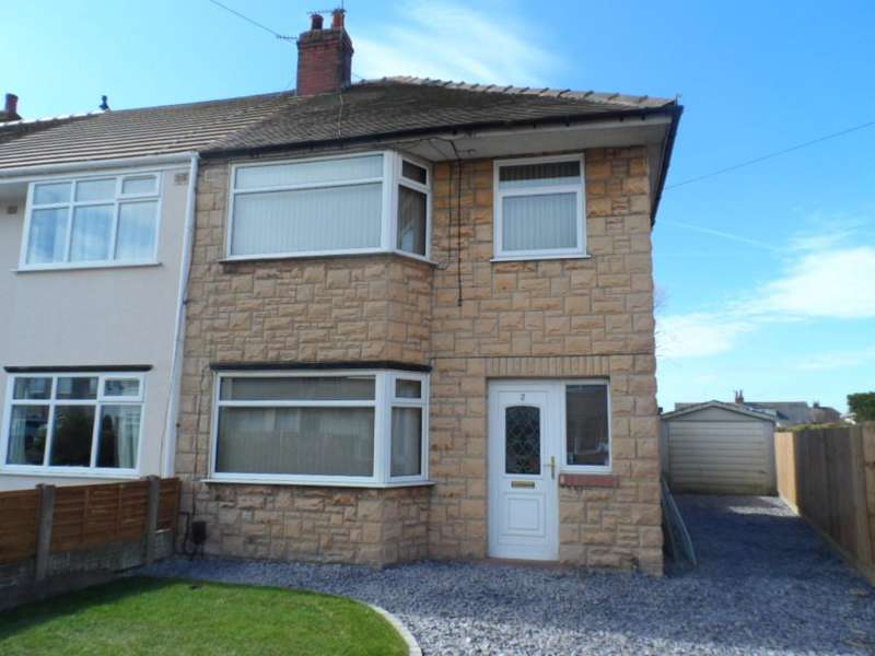 3 Bedrooms Semi Detached House for sale in Canada Crescent, Blackpool, FY2 0NT