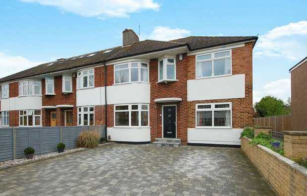 4 Bedrooms End Of Terrace House for sale in Longford Close, Hampton Hill