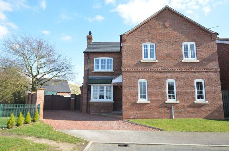 4 Bedrooms Detached House for sale in Mayfield, Goole