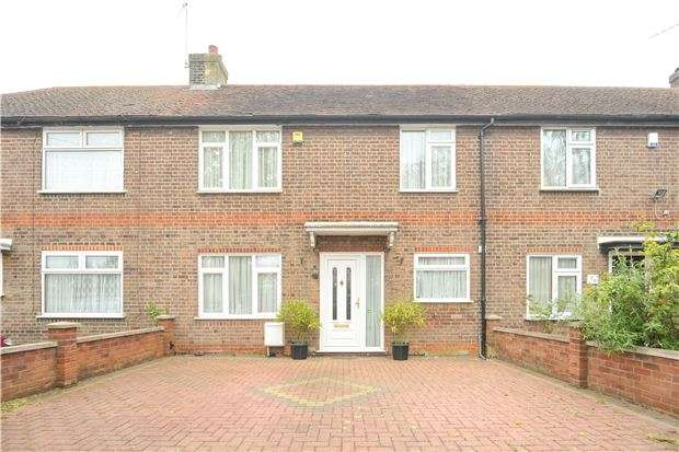 2 Bedrooms Terraced House for sale in Elthorne Road, KINGSBURY, NW9 8BL