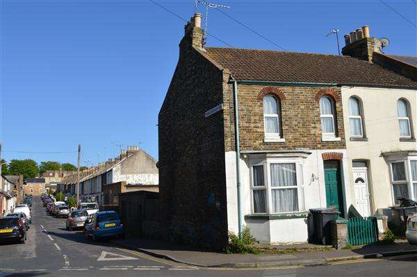 2 Bedrooms End Of Terrace House for sale in Tivoli Road, Margate
