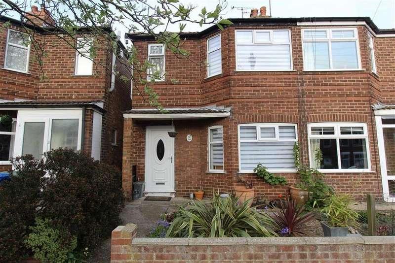 3 Bedrooms Semi Detached House for sale in Marton Avenue, Bridlington, East Yorkshire, YO16