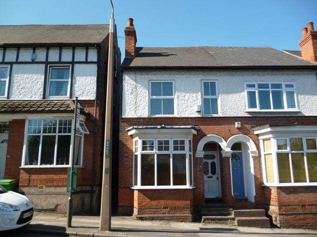 3 Bedrooms Semi Detached House for sale in Winchester Street, Sherwood, Nottingham, NG5 4DR