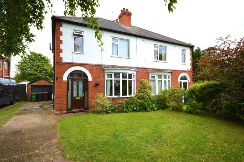 3 Bedrooms Semi Detached House for sale in Hykeham Road, Lincoln, LN6