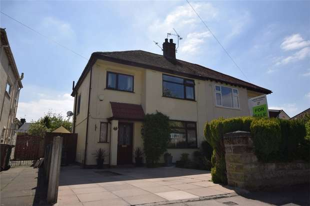 3 Bedrooms Semi Detached House for sale in Langdale Road, Bebington, Merseyside
