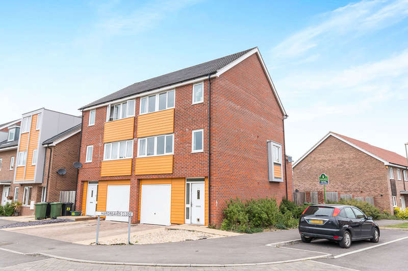 4 Bedrooms Semi Detached House for sale in Hargreaves Close, BASINGSTOKE, RG24