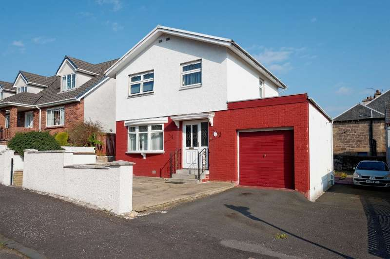 3 Bedrooms Detached Villa House for sale in Russell Street, Wishaw, North Lanarkshire, ML2 7AP