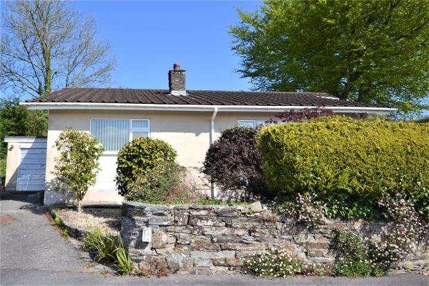 3 Bedrooms Detached Bungalow for sale in Dingle Close, Venterdon, Callington, Cornwall
