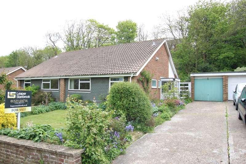 2 Bedrooms Semi Detached Bungalow for sale in Burton Road, Eastbourne, BN21 2RN