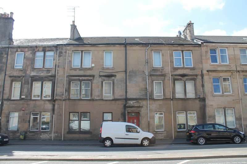 1 Bedroom Flat for sale in Glasgow Road, Paisley, PA1 3NU