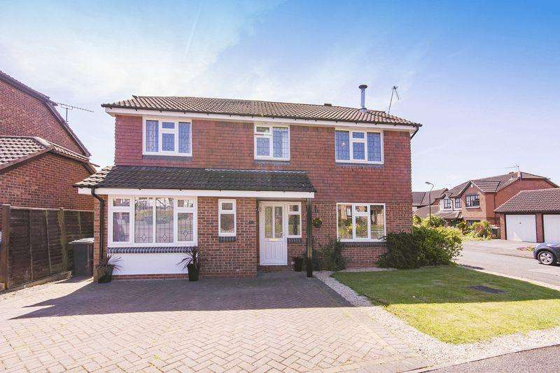 4 Bedrooms Detached House for sale in MARIGOLD CLOSE, OAKWOOD