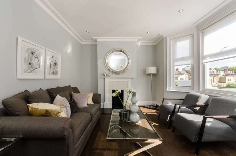 2 Bedrooms Maisonette Flat for sale in Woodlawn Road, Fulham, SW6