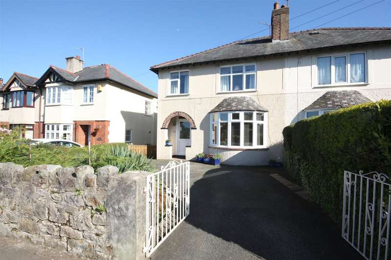 3 Bedrooms Semi Detached House for sale in Penrhos Road, Bangor
