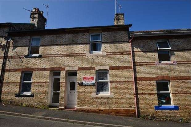 2 Bedrooms Terraced House for sale in Hillmans Road, Newton Abbot, Devon. TQ12 1AA
