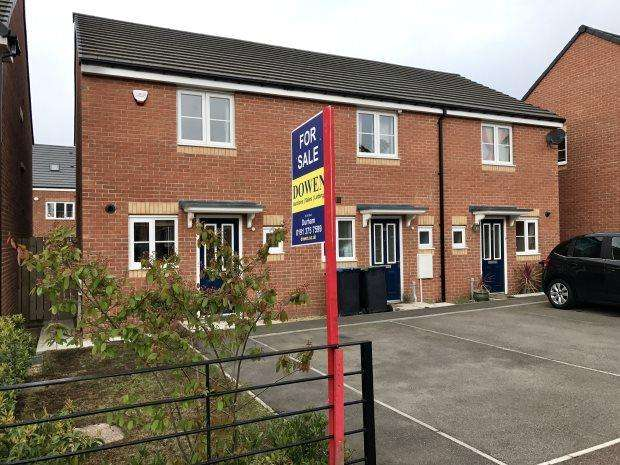 2 Bedrooms Terraced House for sale in HARLE OVAL, BOWBURN, DURHAM CITY : VILLAGES EAST OF