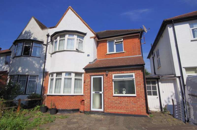 3 Bedrooms Semi Detached House for sale in Hervey Close, London N3