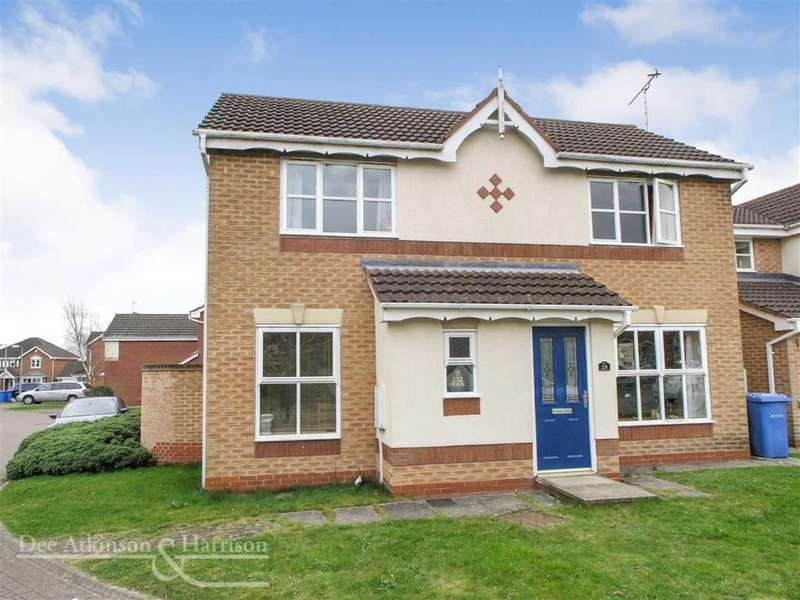 3 Bedrooms Detached House for sale in Swallow Road, Driffield, East Yorkshire