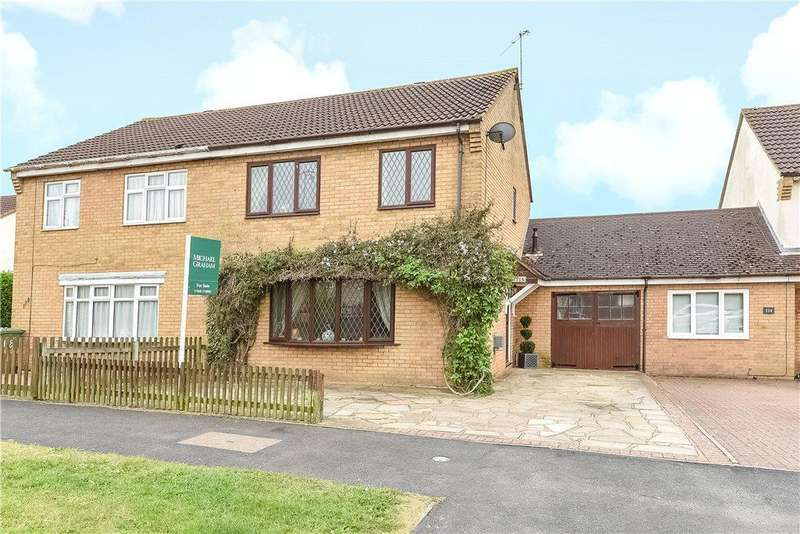 4 Bedrooms Semi Detached House for sale in Wordsworth Avenue, Newport Pagnell, Buckinghamshire