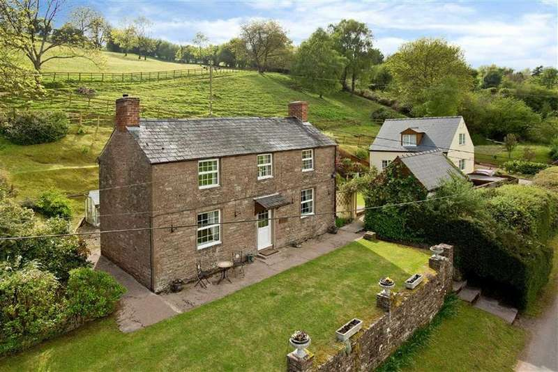 3 Bedrooms Detached House for sale in Garway Hill, Garway Hill Hereford, Herefordshire