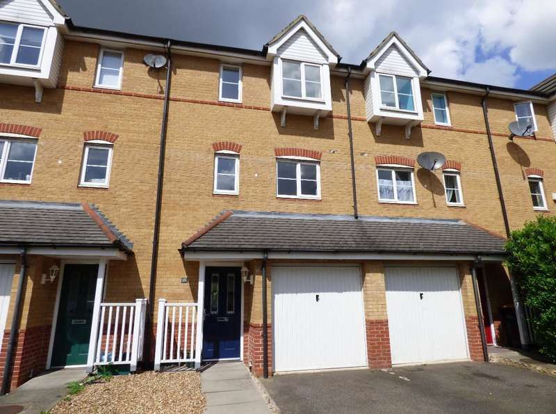 3 Bedrooms Town House for sale in The Sidings, Bedford, MK42 9NE
